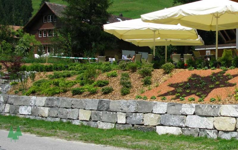 Tat ren plasselb flachbl cke kaderli ag gartenbau for Gartengestaltung 70 qm
